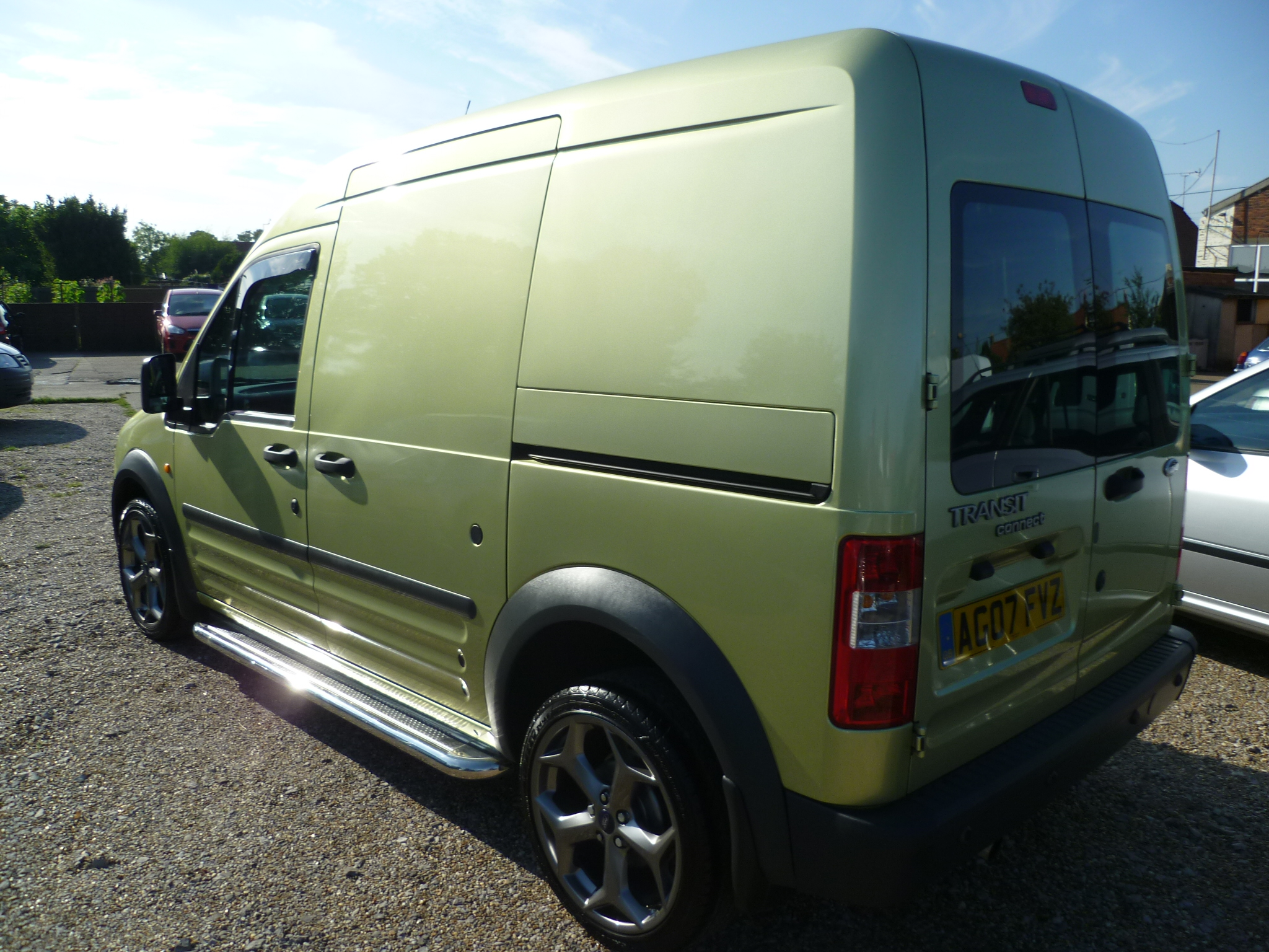 Ford Transit Connect 1.8TDCI Crew van 003
