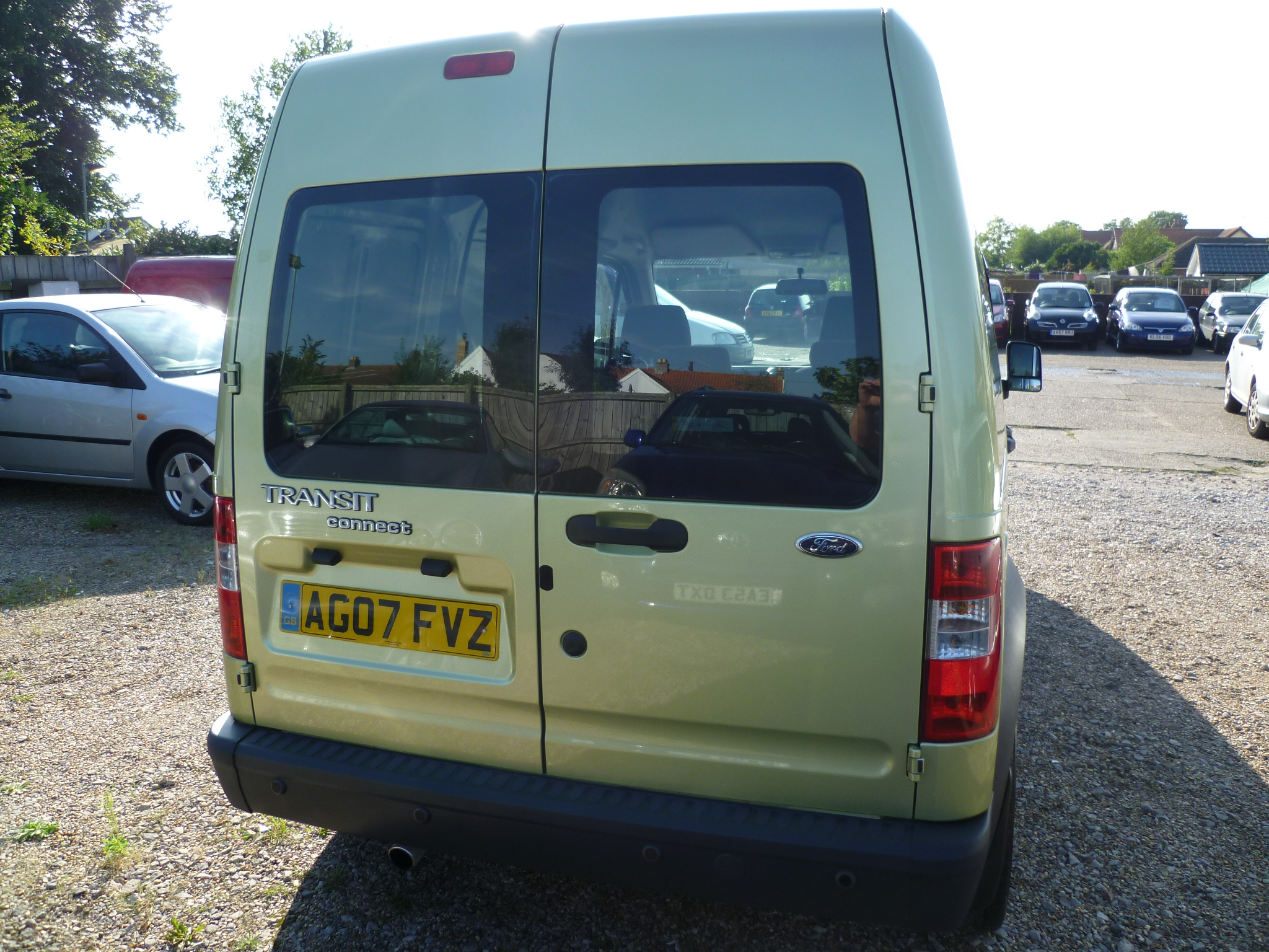 Ford Transit Connect 1.8TDCI Crew van 008